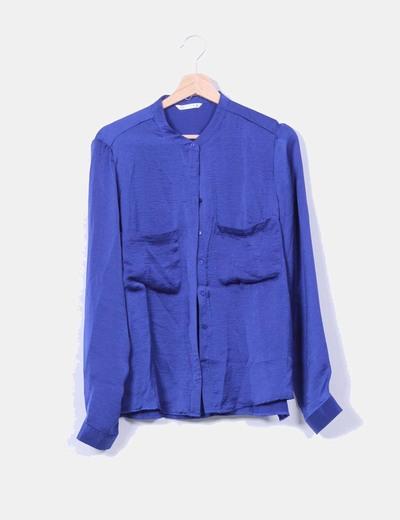 Blusa azul klein Lefties