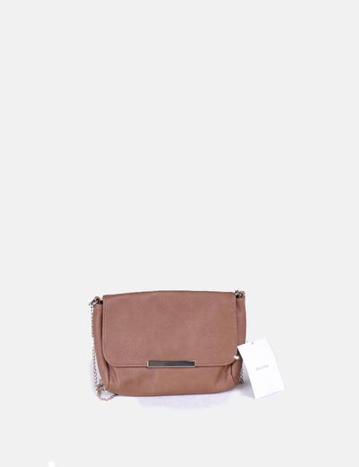 Bolso mini marrón Bershka