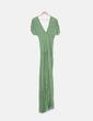 Vestido maxi verde print NoName
