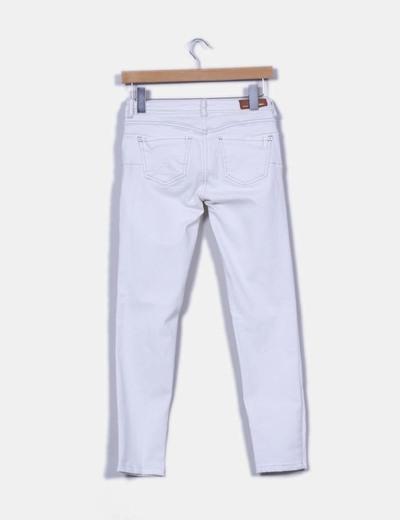 Jeans pitillos crudos