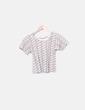 Camiseta bicolor crop NoName