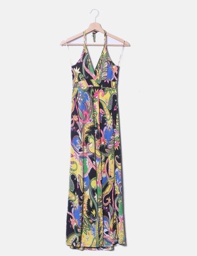 NoName Colori del vestito a stampa morbida in lycra (sconto 66 ... dfb415a1fe1