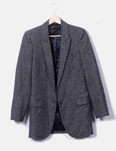 Blazer gris Zara
