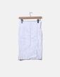 Falda tubo blanca NoName