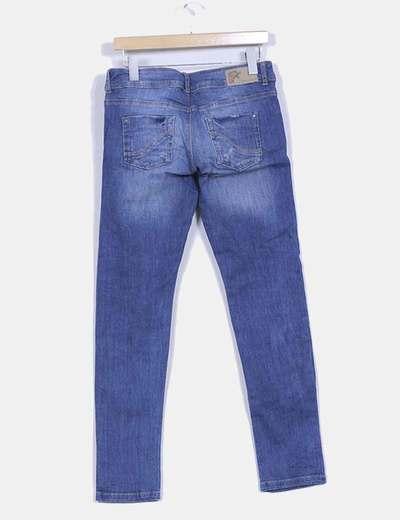 Pantalon demin oscuro