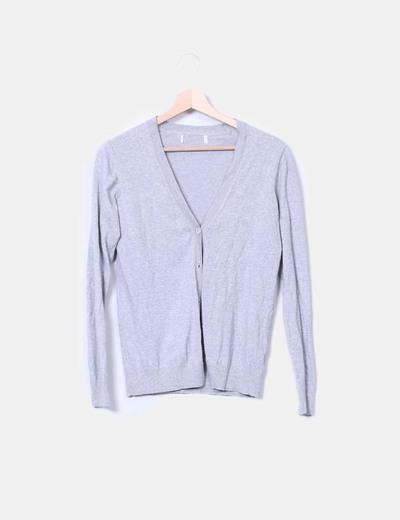 Jersey gris abotonado NoName