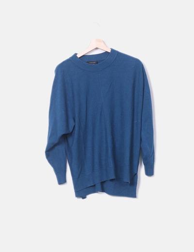 Jersey azul oversize