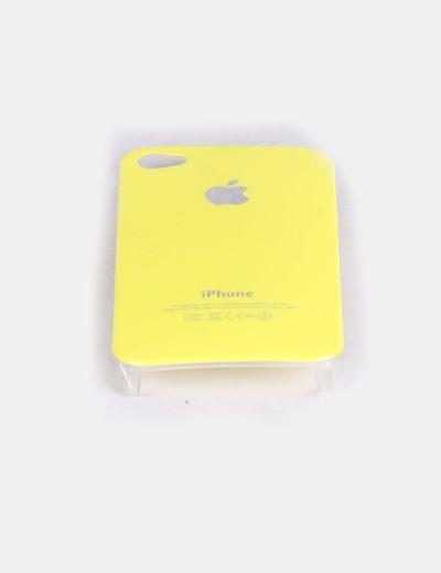 Carcasa Iphone 4 amarilla NoName