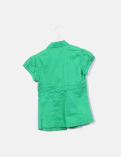 c47591f8406 Stradivarius Camisa verde manga corta (descuento 85%) - Micolet