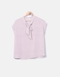Blusa rosa estampada Promod