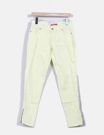 Pantalón amarillo limón Venca