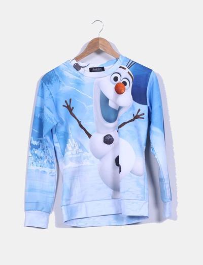 "Sudadera azul "" Olaf "" Choies"