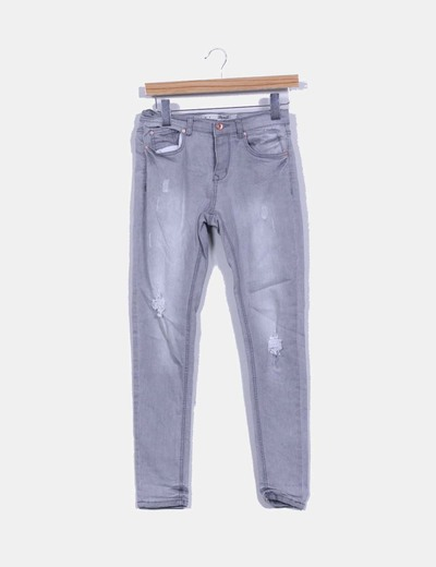 Pantalón vaquero gris Denim Co.