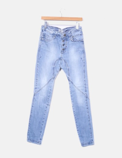 Bershka Pantaloni larghi di jeans (sconto 71%) - Micolet f1907dfaf547