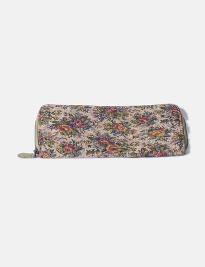 Cartera floral Pull&Bear