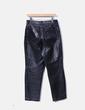 Pantalón de piel negro Euskal piel