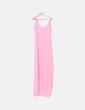 Maxi vestido de tirantes rosa Vero Moda