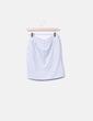 Falda deportiva gris Bershka