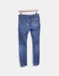 Jeans slim avec cow-boy cassé Topshop