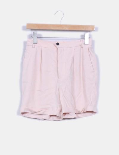 Short rosa pastel Zara