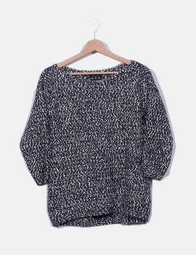 Jersey tricot jaspeado