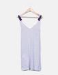 Robe blanche et bleue de à bretelles rayées Tommy Hilfiger