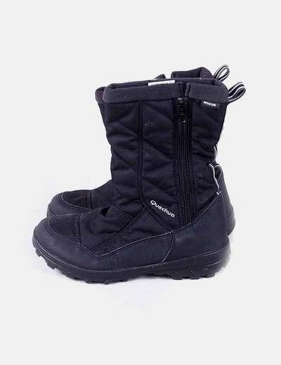 Essensole Botas de nieve negras (descuento 72%) - Micolet 6e6dd23b4c9e5