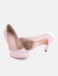 Zapato de tacón beige Marypaz