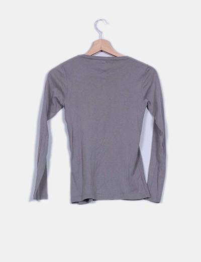 Camiseta basica gris