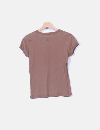 Camiseta marron bugs bunny