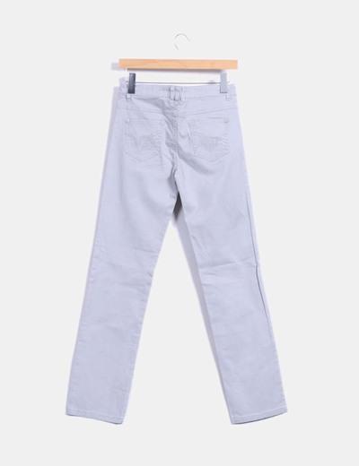 Pantalon gris recto