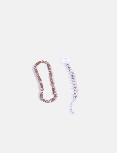 Conjunto de collar y pulsera  NoName