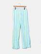 Pantalon cloche rayé Zara