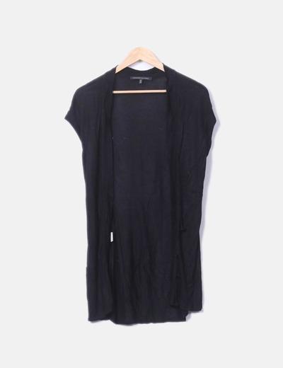 Chaleco tricot negro Alessandro Dell' Acqua
