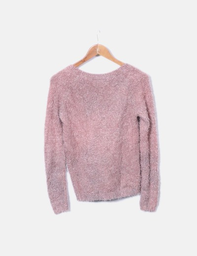 Jersey rosa print pelo