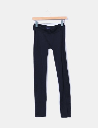 Legging negro sin costuras Zara