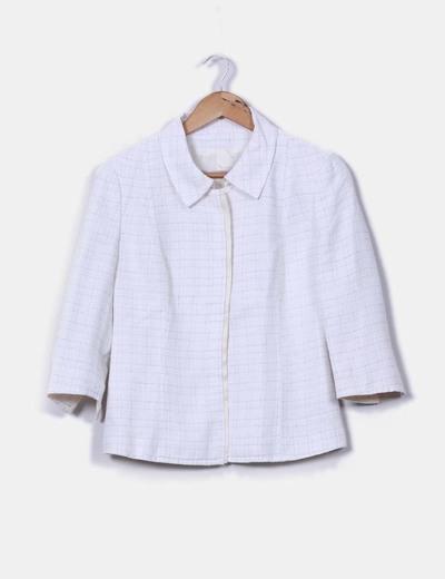 Conjunto de falda y chaqueta cruda Victorvictoria