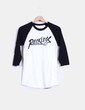 Camiseta tipo beisbolera print Young & Reckless