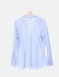 Camisa azul a rayas H&M