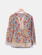 Blusa estampada floreada multicolor NoName