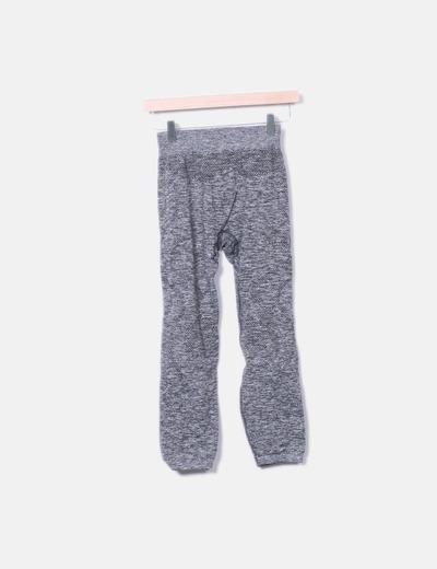 Legging esporte cinza manchado NoName