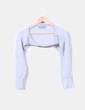 Bolero tricot gris Zara