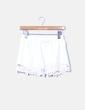 Shorts blanco crochet Zara