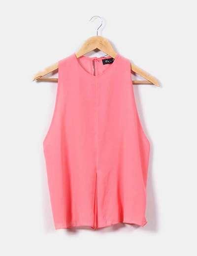 Blusa de gasa rosa chicle  NoName