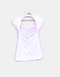 Camiseta print escote en espalda NoName