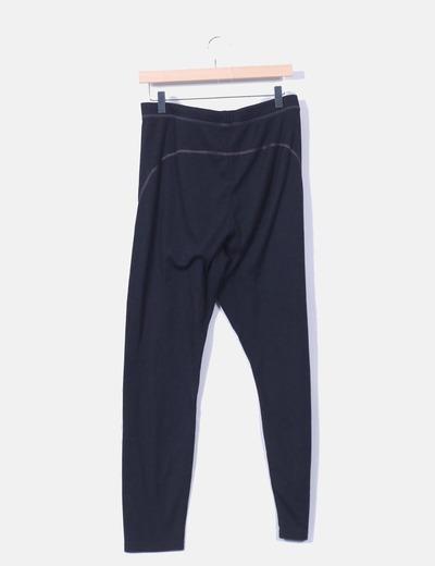 Pantalon sport negro