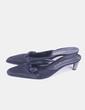 Zapato negro destalonado Bottega Veneta