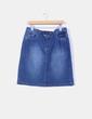 Falda demin detalle abertura trasera MAS fashion