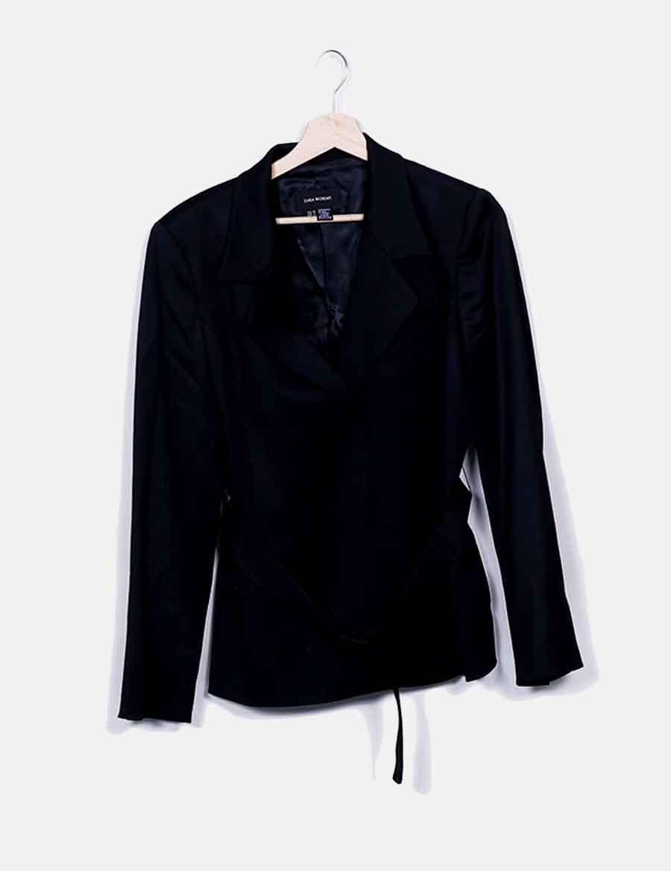Baratos Negra Mujer Blazer Chaquetas Y Zara Abrigos Online