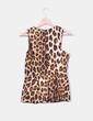 Top peplum animal print Zara